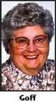 Profile photo:  Betty A. <I>Berkes</I> Goff