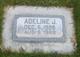 "Profile photo:   Adeline James "" "" <I> </I> Frailey,"