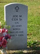 Joe M. Cox, Sr