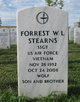 Forrest W L Stearns