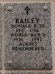 Profile photo:  Donald R. Bailey, Sr