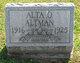 Profile photo:  Alta Orminda Altman