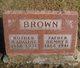 Mary Adaline <I>Gann</I> Brown