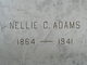 Nellie C <I>Peterson</I> Adams