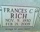 Profile photo:  Frances C Rich