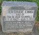 Profile photo:  Gertrude Emma Gammill