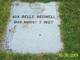 Profile photo:  Ada Belle Bedwell