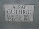 Ashby Ray Guthrie