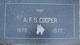 Albert Francis Cooper