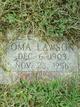 Oma Magalene <I>McMillen</I> Lawson