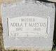 Profile photo:  Adela T. Maestas