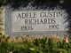 Profile photo:  Adele M <I>Gustin</I> Richards