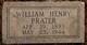 "William Henry ""Bill"" Prater"