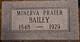 Rebecca Manirva <I>Prater</I> Bailey