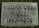 William Owen Martin