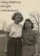Mary Beatrice <I>Wright</I> Whisenhunt