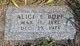 Alice E. Bopp