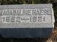 Magadaline <I>Miller</I> Haese