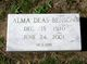 Profile photo:  Alma <I>Deas</I> Benson