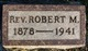 Rev Robert M. Allbaugh