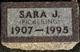 Sara J. <I>Post Pickering</I> Allbaugh