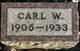 Carl William Allbaugh