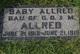 Baby Allred