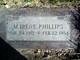 "Mable Irene ""M. Irene"" Phillips"