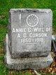 """Profile photo:  Anna Catherine """"Annie"""" Corson"""
