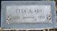 Profile photo:  Etta Anna <I>Garner</I> Ady