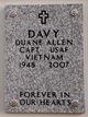 Profile photo:  Duane Allen Davy
