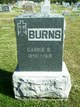 Profile photo:  Carrie Belle Burns
