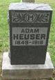 Profile photo:  Adam Heuser
