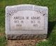 Profile photo:  Amelia M. <I>Freeman</I> Adams