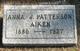Anna J. <I>Patterson</I> Aiken