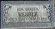 Ida <I>Booth</I> Webber