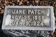 Jane <I>Heel</I> Patch