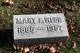 Mary E Webb