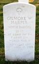 2LT Gilmore W Harper