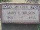 Mary Elizabeth <I>O'Neal</I> Wilson