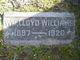 William Lloyd Williams