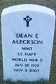Dean E Aleckson