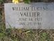 William Eugene Vallier