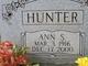 "Ann Sallie ""Annie"" <I>Pieprzyca</I> Hunter"