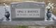 Profile photo:  Opal Inez <I>Cypert</I> Barnes