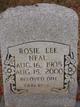 Rosie Lee Neal