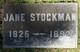 Jane <I>Wade</I> Stockman