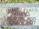 Harvey Claud Adams