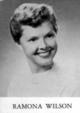 Mrs Ramona Ruth Wilson