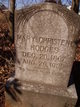 Mary Christene <I>Mattox</I> Hodges